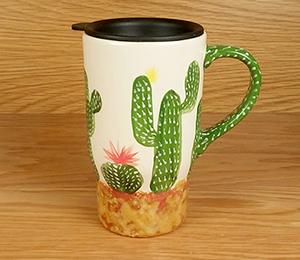 Cypress Cactus Travel Mug