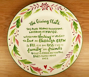 Cypress The Giving Plate