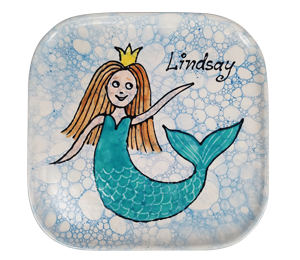 Cypress Mermaid Plate